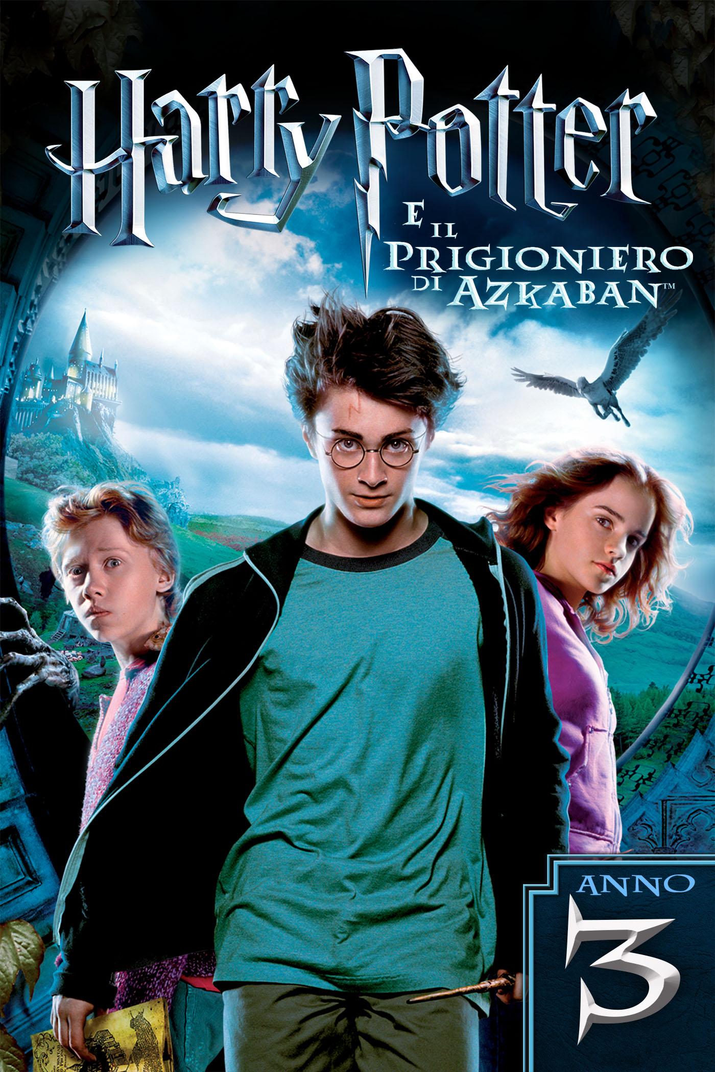 Harry Potter e il Prigioniero di Azkaban poster ITA