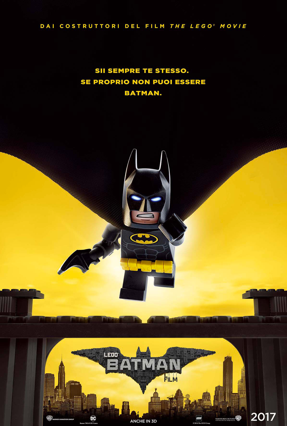 LEGO Batman Il Film poster ITA