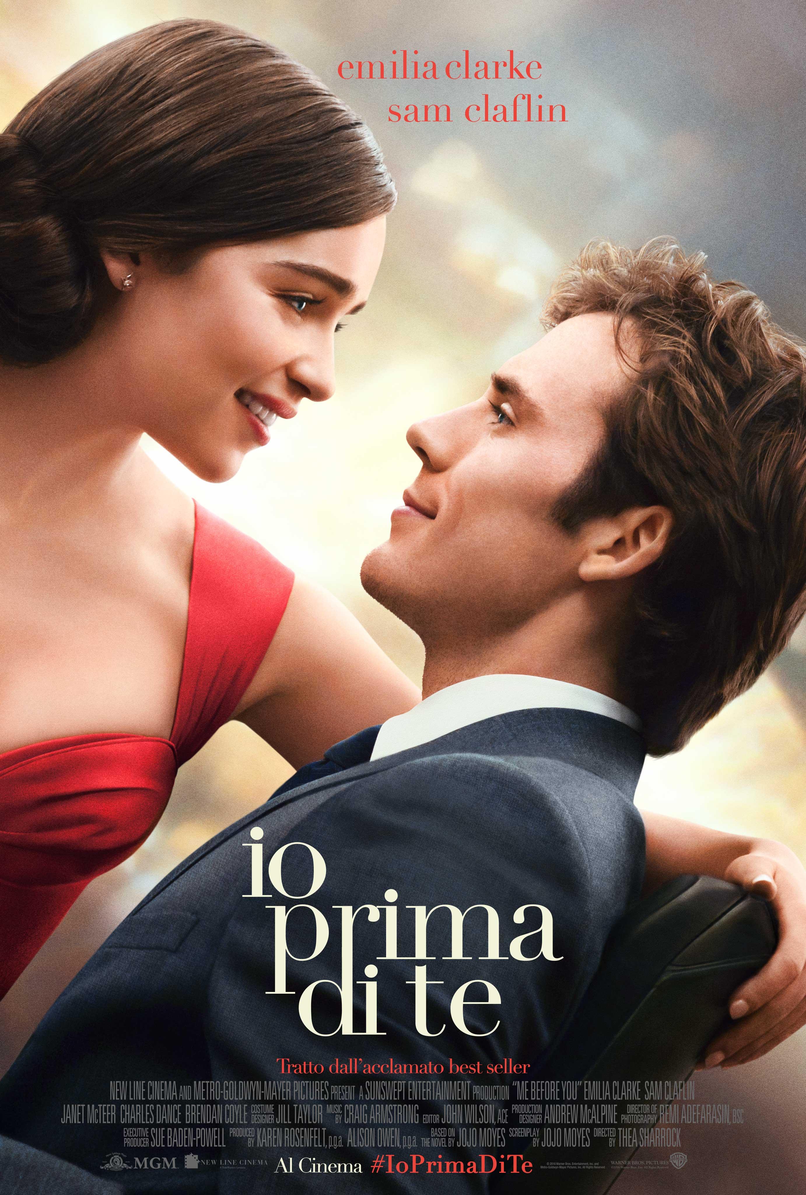 Io Prima Di Te Warner Bros Entertainment Italia