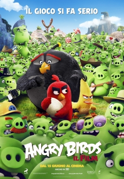 Angry Birds - Il Film poster ITA