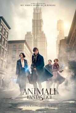 Animali fantastici e dove trovarli poster ITA