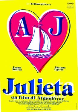Julieta poster ITA