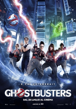 Ghostbuster poster ITA