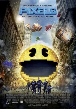 Pixels Poster ITA