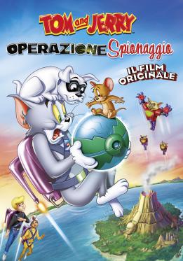 Tom and Jerry Operazione Spionaggio poster ita