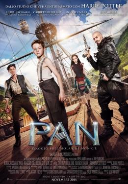 Pan - Viaggio sull'isola che non c'è poster ITA