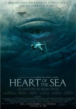 Heart of the Sea - Le origini di Moby Dick posteri ita