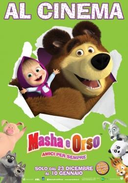 Masha e Orso: Amici per sempre poster ITA