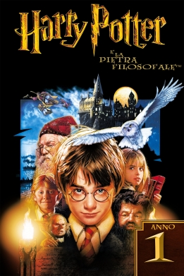 Harry Potter e la Pietra Filosofale poster ITA