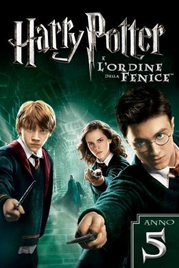 Harry Potter e l'Ordine della Fenice poster ITA