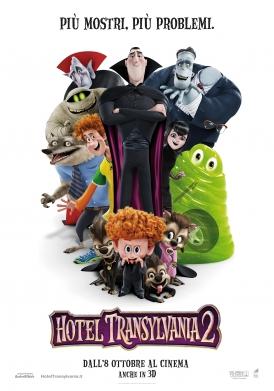 Hotel Transylvania 2 poster ita