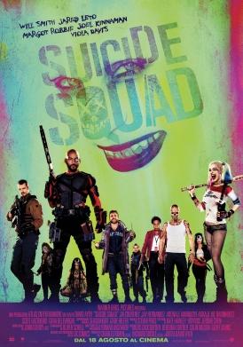Suicide Squad poster ITA