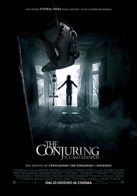 The Conjuring - Il caso Enfield poster ITA