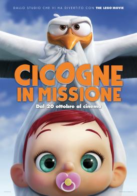 Cicogne in missione poster ITA