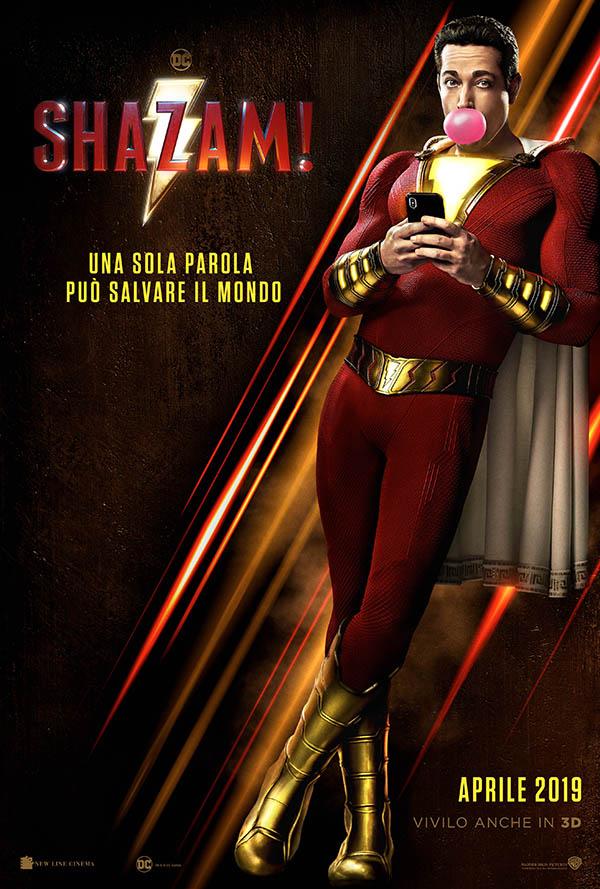 Shazam! Teaser Poster Italia