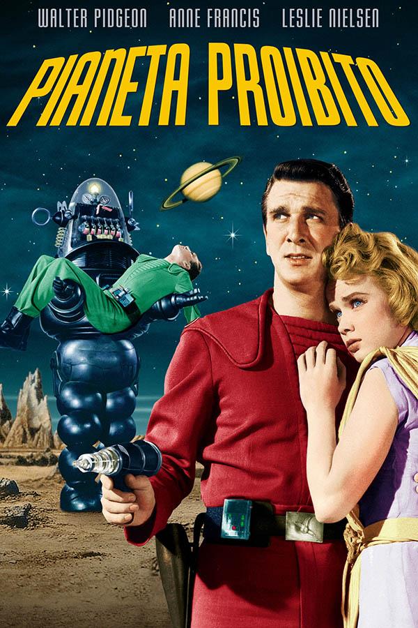 Il pianeta proibito Poster Italia