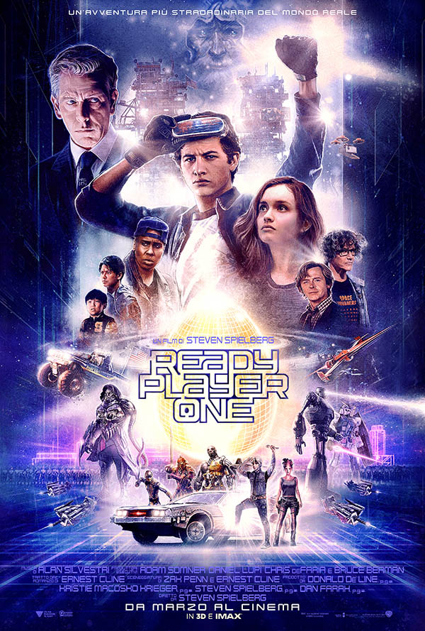 Ready Player One_Teaser Poster Italia 2