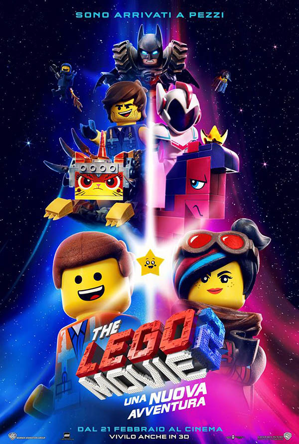 The Lego Movie 2   Una nuova avventura_Teaser Poster Italia 2
