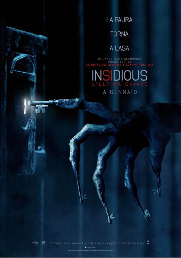 Insidious   L'Ultima Chiave_Teaser Poster Italia