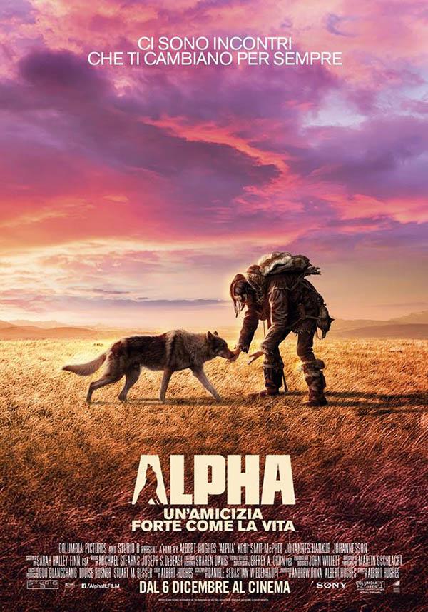Alpha Un'amicizia forte come la vita Poster Italia