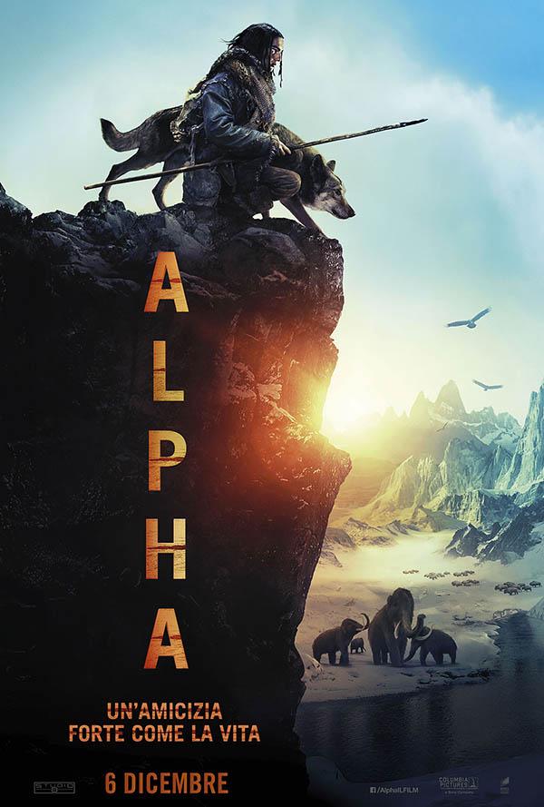 Alpha   Un'amicizia forte come la vita_Teaser Poster Italia