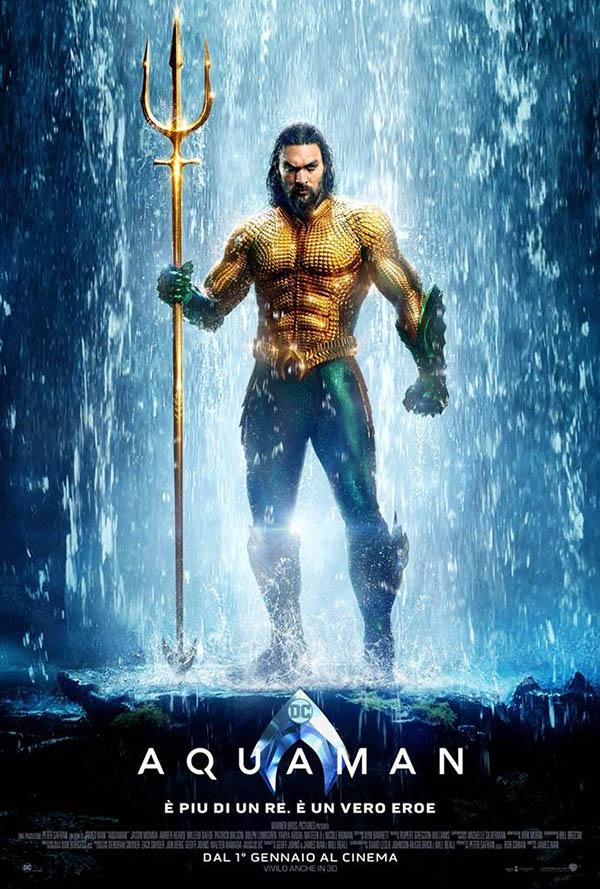 Aquaman Poster Italia 1
