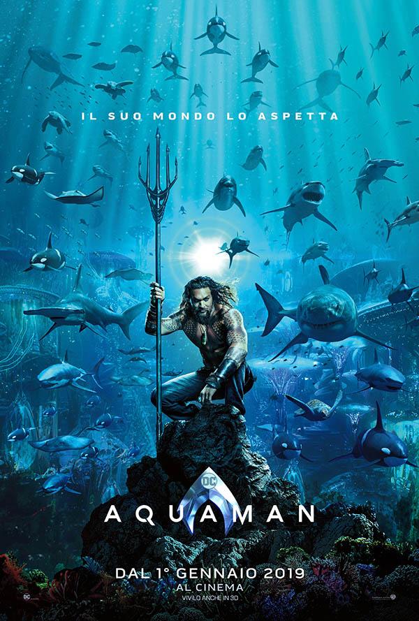 Aquaman_Teaser Poster Italia