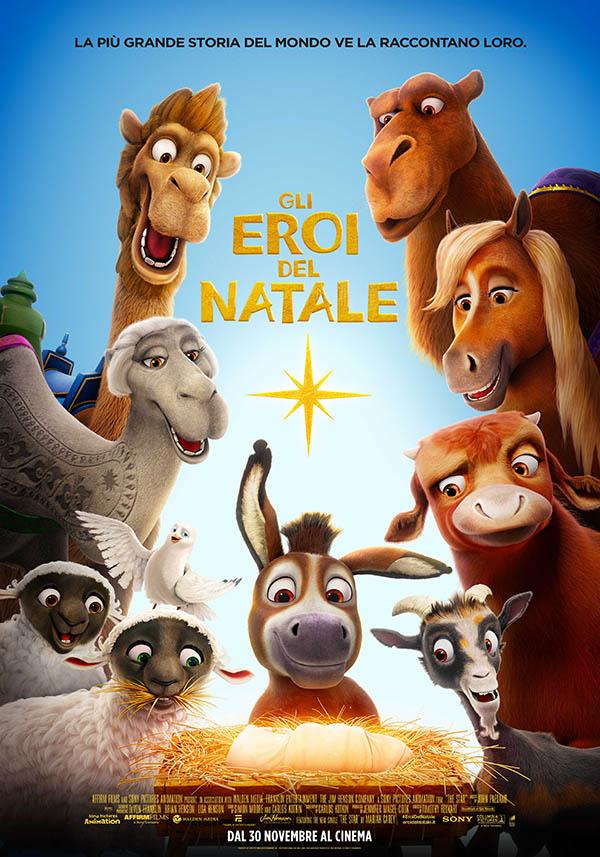 Gli Eroi Del Natale Poster Italia