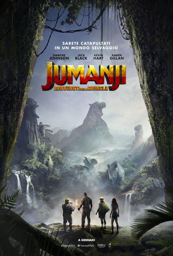 Jumanji   Benvenuti nella Giungla_Poster Italia