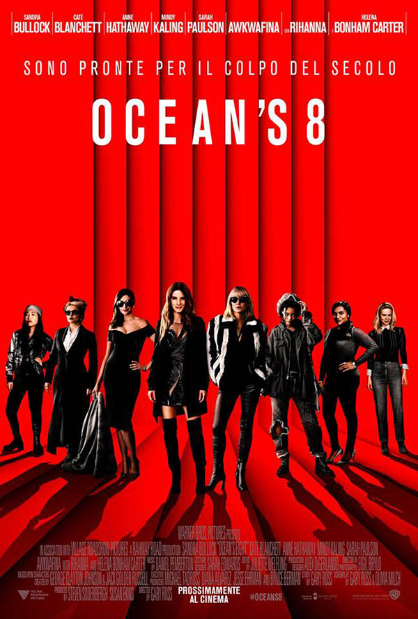 Ocean's 8_Teaser Poster Italia