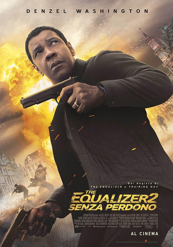 The Equalizer 2   Senza perdono Poster Italia