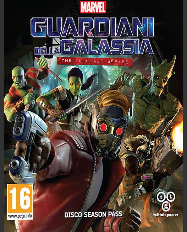 Guardiani della Galassia The Telltale Series_Poster