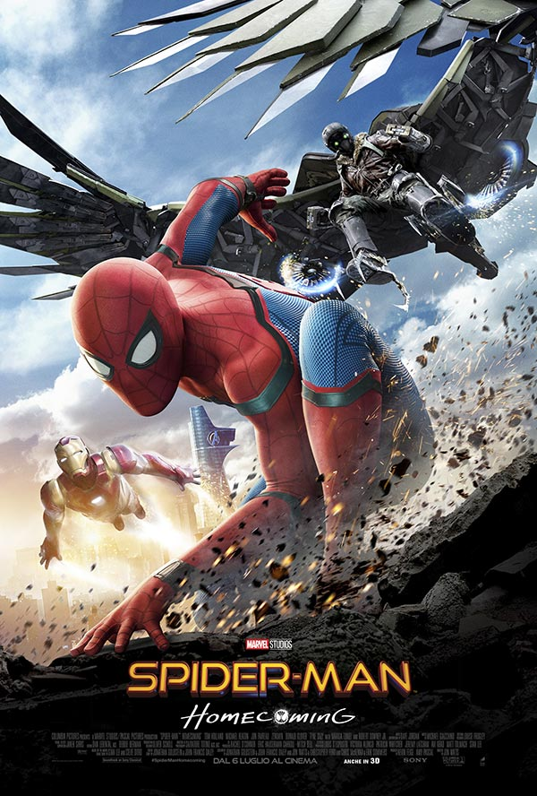 Spider Man Homecoming Poster Italia
