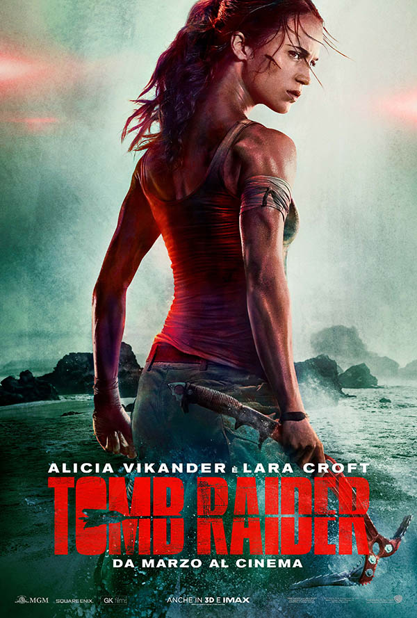 Tomb Raider Teaser Poster Italia
