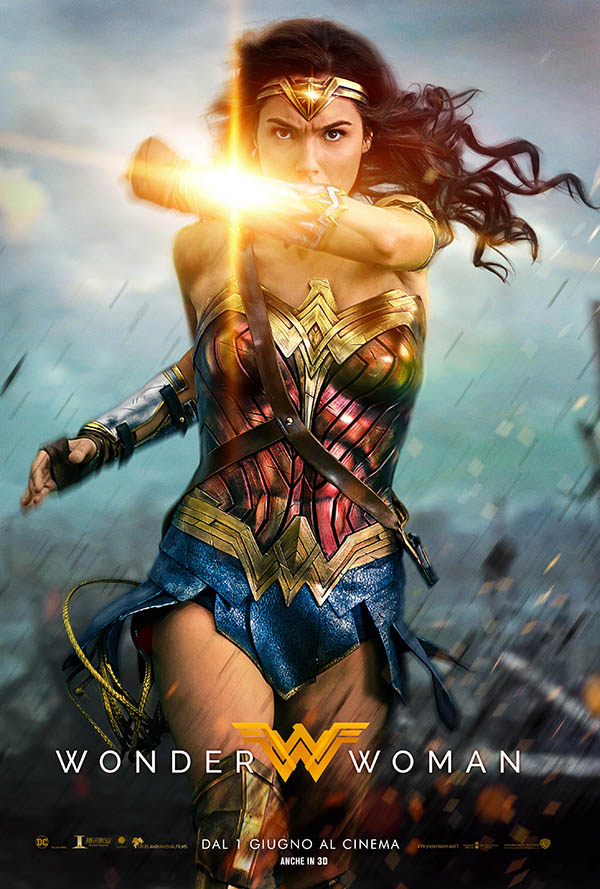 Wonder Woman_Poster Italia