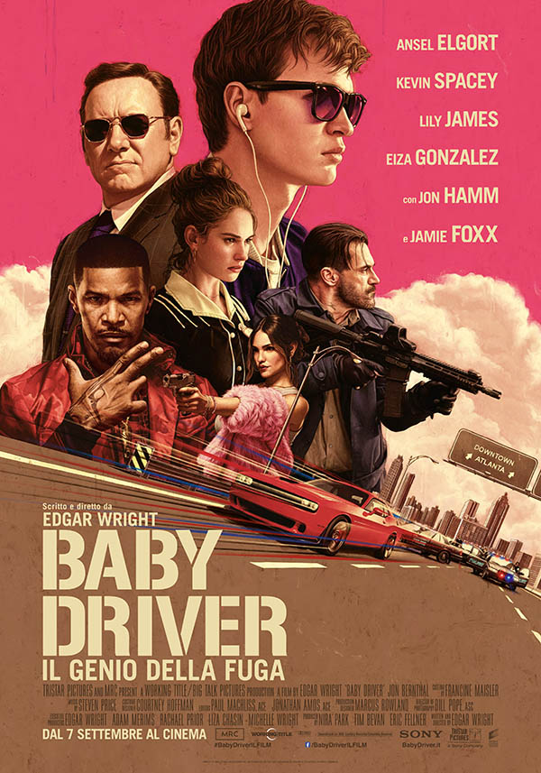 Baby Driver   Il Genio della Fuga Poster Italia