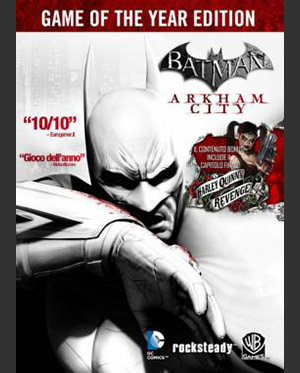 Batman Arkham City Poster