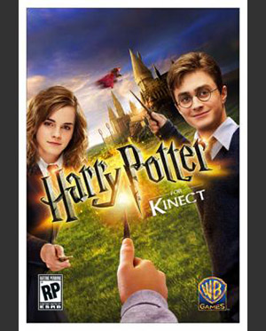 Harry Potter per Kinect_Poster