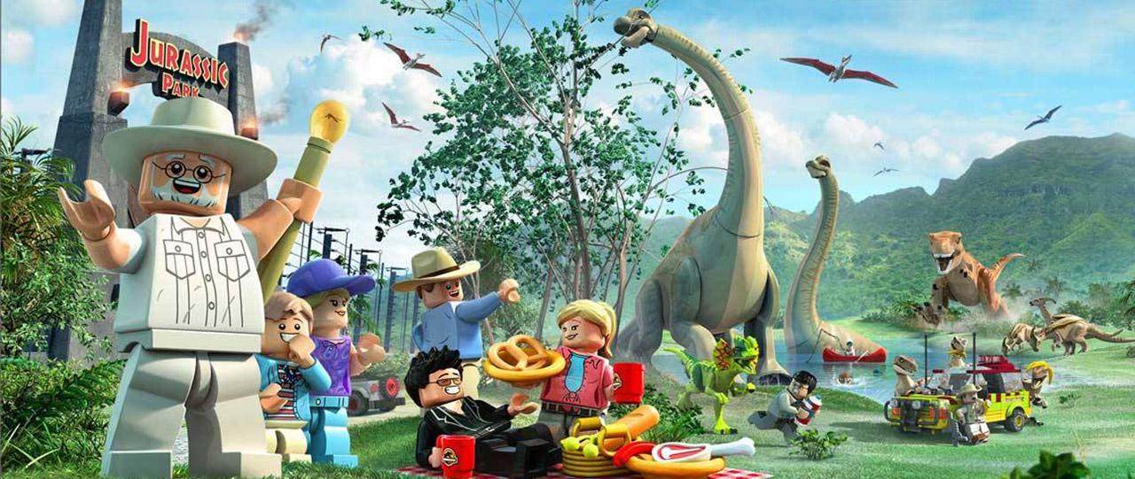 LEGO Jurassic World_header
