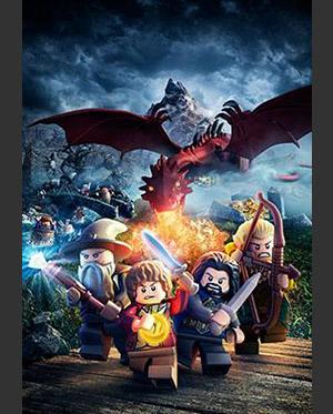 LEGO Lo Hobbit_poster