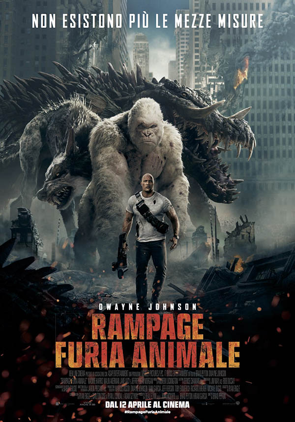 Rampage   Furia animale Poster Italia