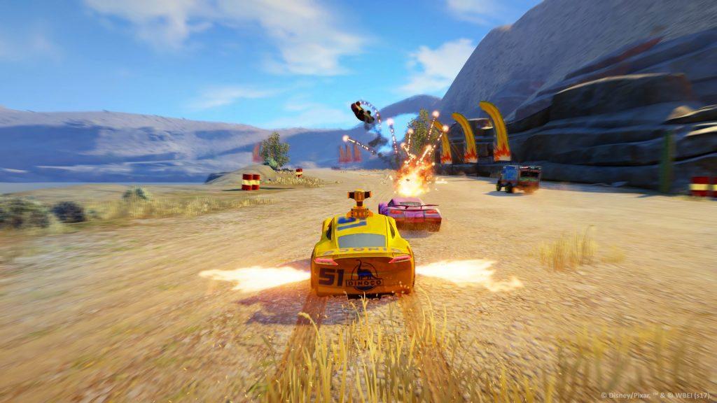 Cars 3: In gara per la vittoria - Screenshoot del gioco
