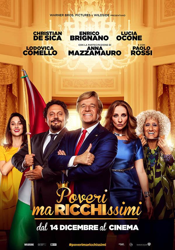 Poveri ma ricchissimi Poster Italia
