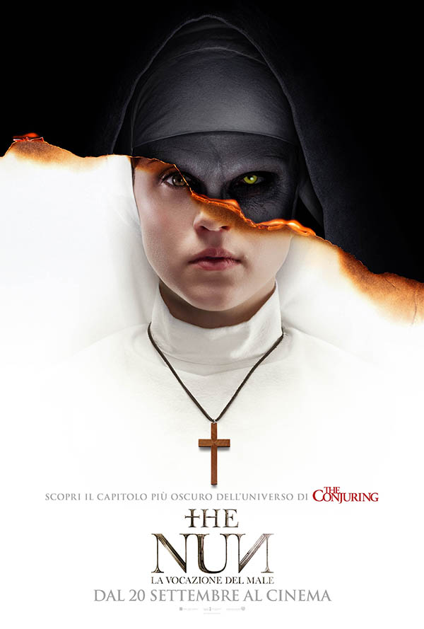 The Nun – La vocazione del male_Poster Italia