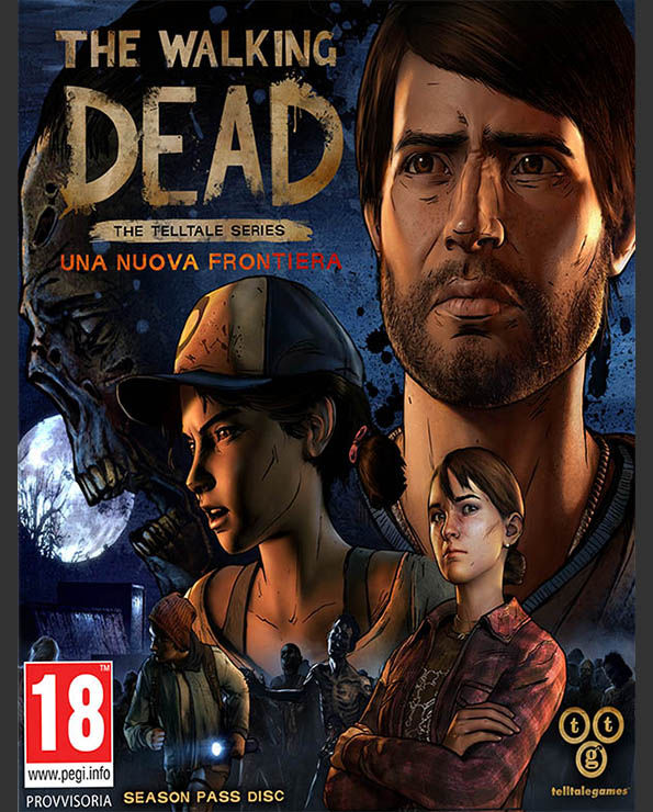The Walking Dead The Telltale Series Una nuova frontiera_Poster