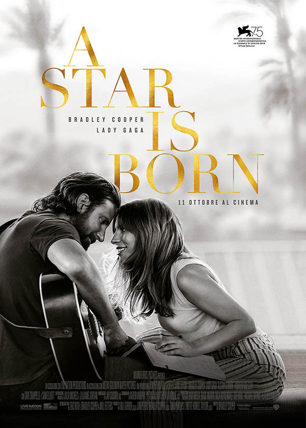 A Star is Born_Poster Italia