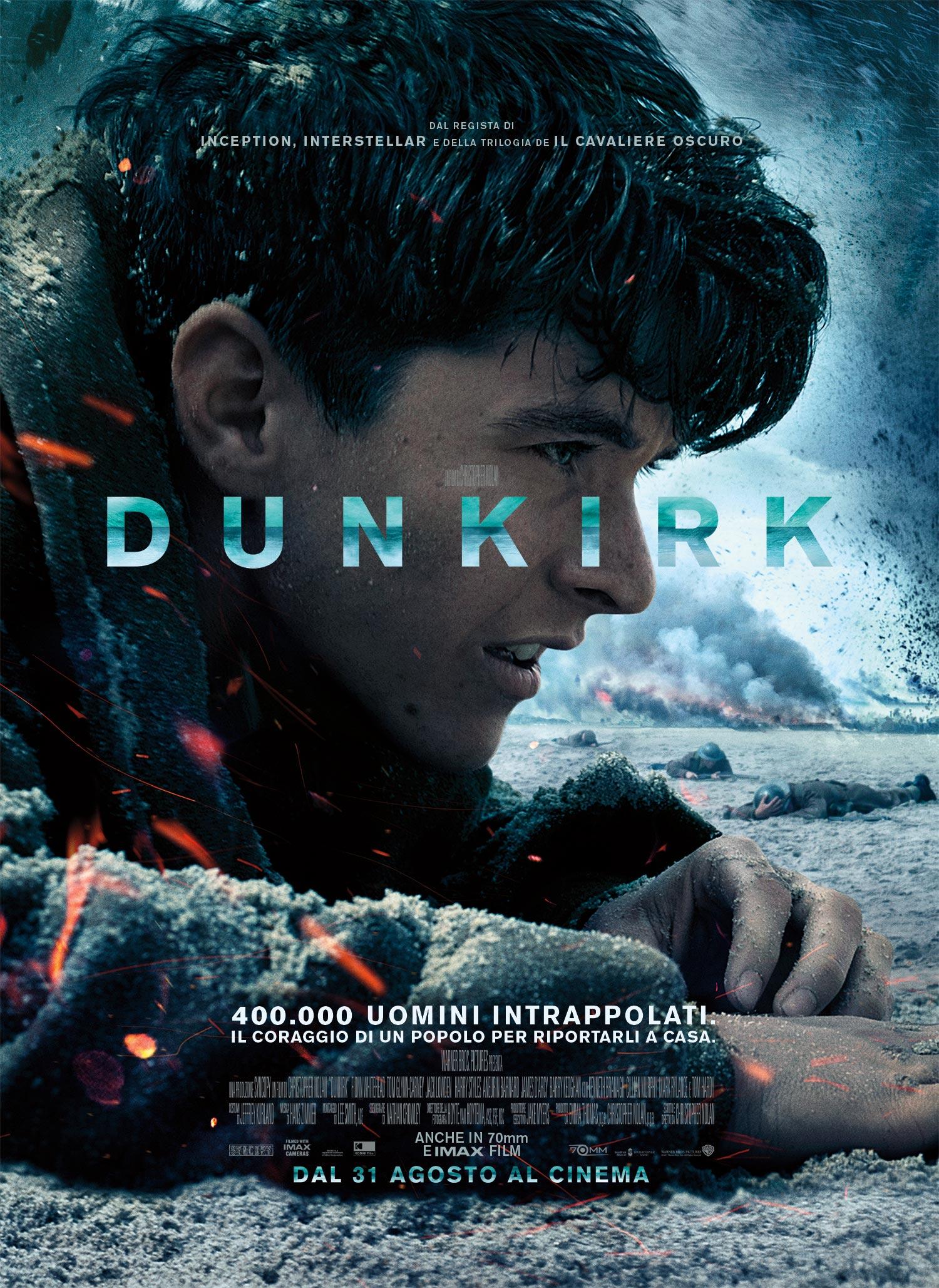 Dunkirk - Poster Ufficiale Italiano del film