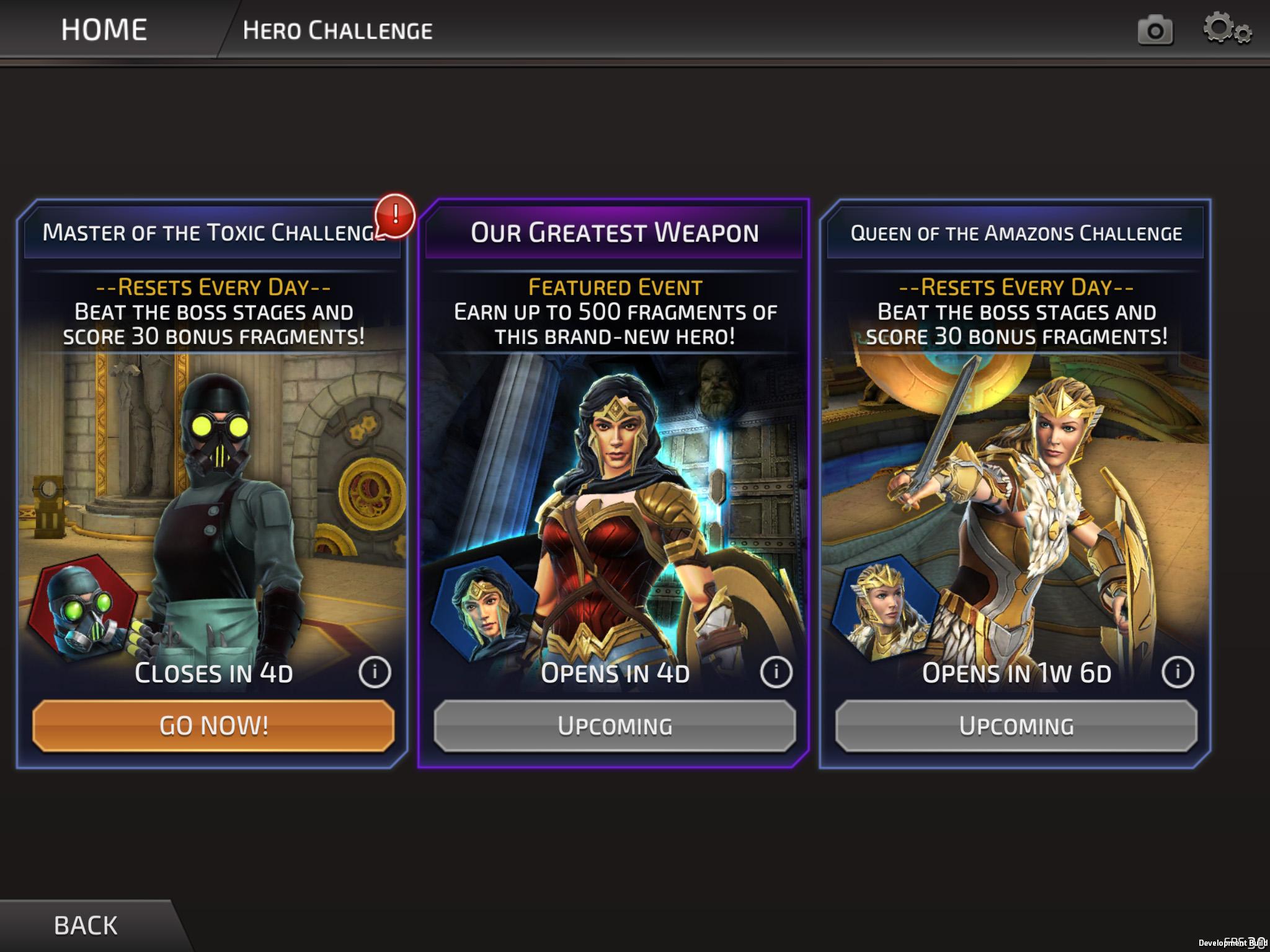 Dc Legends - Screenshot dal gioco