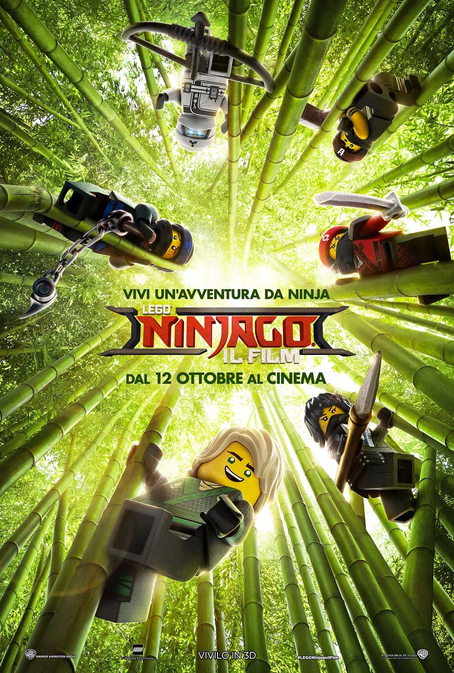 LEGO NINJAGO IL FILM - Poster italiano