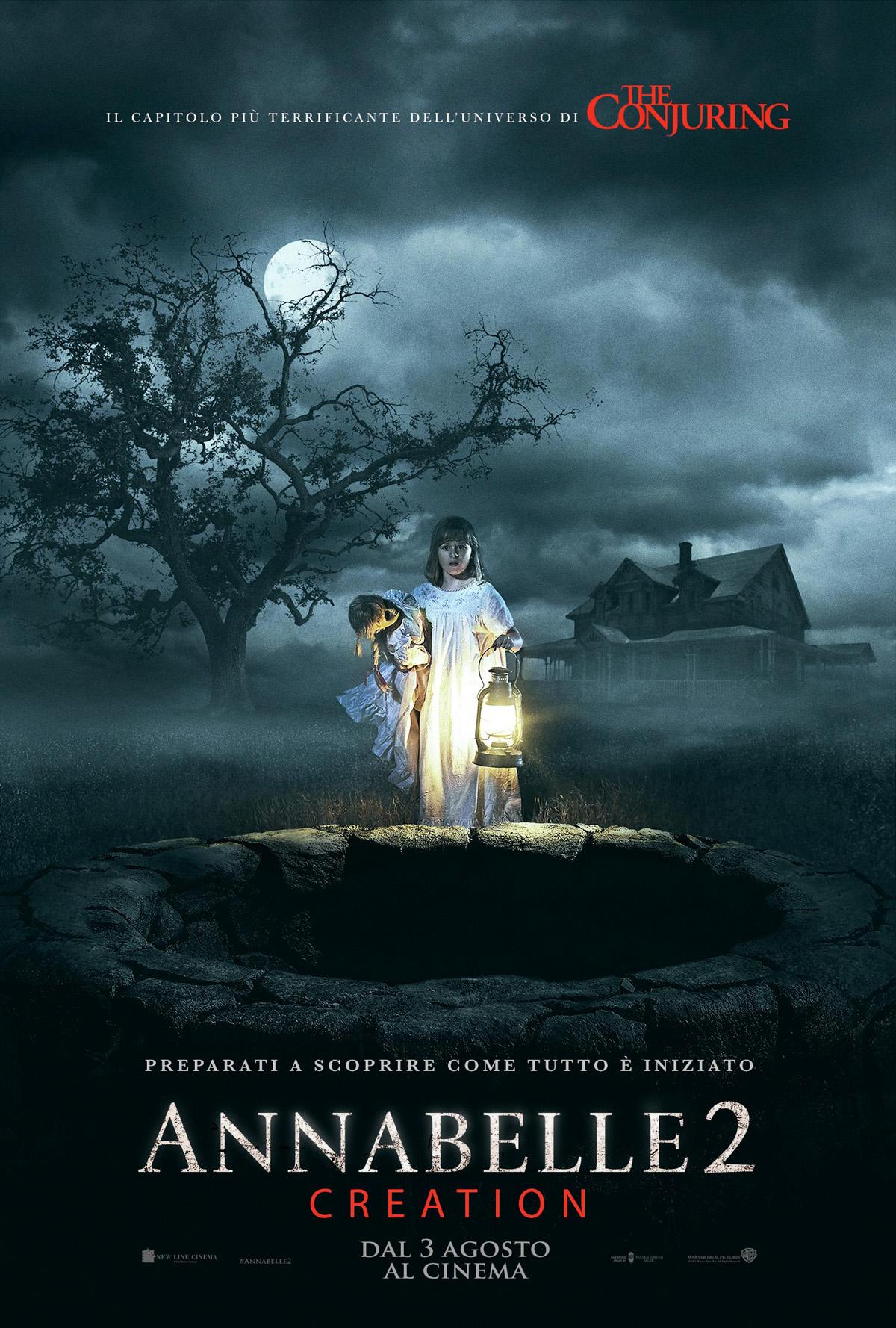 Annabelle 2: Creation - Poster Italiano del film